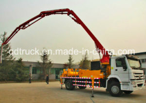 25m 27m 29m Truck-Mounted Concrete Boom Pump pictures & photos