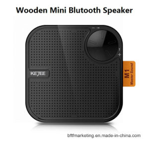Mini Wooden Wireless Bluetooth Stereo Speaker pictures & photos