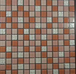 Building Material Wall and Floor Glass Mosaic for Wall pictures & photos