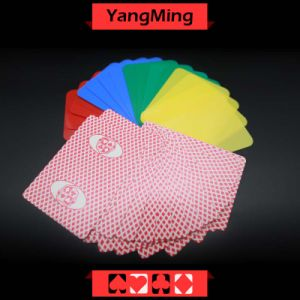 PVC Plastic Casino Poker Playing Card Die Cutting Card with Custom Quality and PRO Service Four Color Ym-CC01 pictures & photos