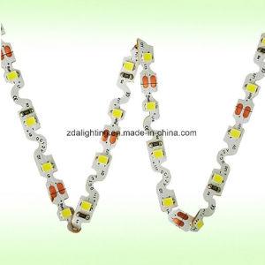 """12V-24V 60LEDs/M SMD2835 Warm White """"S"""" Shape LED Light Strips"""