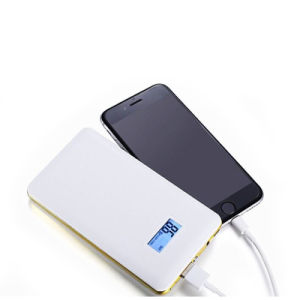 Ultra-Thin LCD Display Mobile Powerbank 10000mha High Capacity LED Lighting pictures & photos