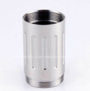 High Precision CNC Machined Parts with Silver OEM Manufacturer pictures & photos
