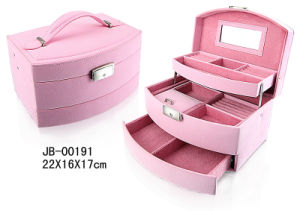 Luxury PU Leather Jewelry Box