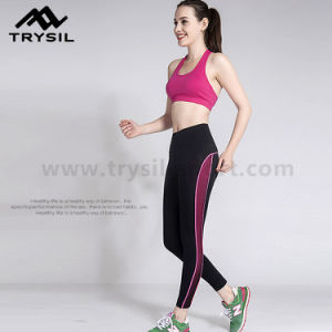 Quick Drying Women Fitness Wear Running Pants Gym Legging pictures & photos