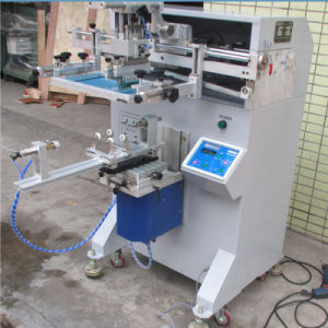 TM-500e High-Pneumatic Cylinder Botlle Screen Printing Machine pictures & photos