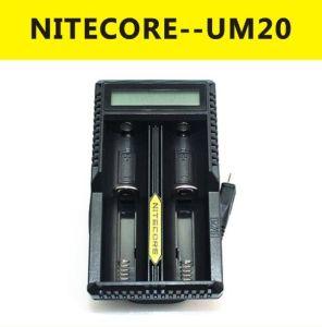 2016 Vivismoke Wholesale Powered Li-ion Battery Charger Nitecore Um20