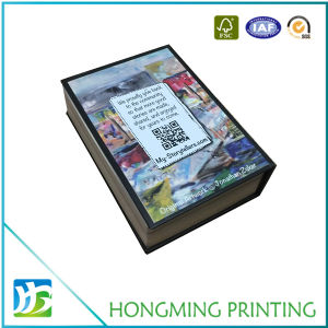 Book Design Box Jewelry Packaging with Magnetic Closure pictures & photos
