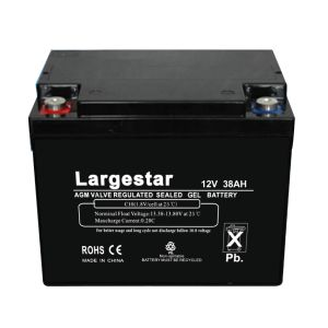 Deep Cycle Battery UPS Battery Storage Battery12V 38ah pictures & photos