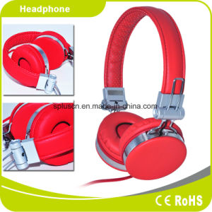 2017 New Style Computer Accessories Stereo PU Headphone pictures & photos