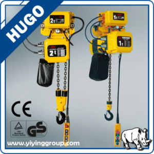 0.5-5 Ton Low Headroom Electric Chain Hoist with Trolley pictures & photos