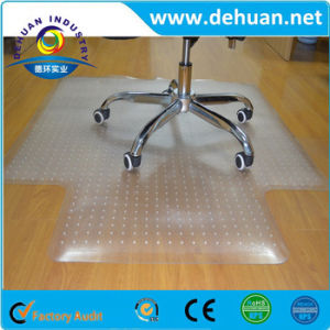 Transparent Hard PVC Plastic Floor Mat Size 36X48 Inches /46X60 Inches; Thickness 1.8-2.5mm; Rectangular with Lip pictures & photos