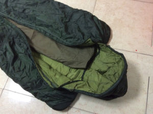 Mummy Military Tactical Outdoor Travelling Sports Down or Cotton Nylon Water-Proof Sleeping Bag pictures & photos