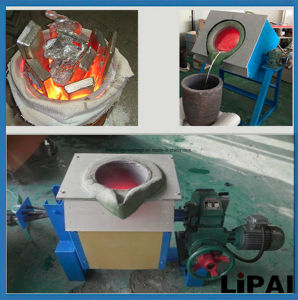 Medium Frequency Induction Heating Furnance for Gold Aluminium Melting pictures & photos