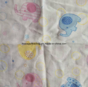 Pretty Printing Cotton Muslin Swaddle Blanket Wrap 120X120cm pictures & photos