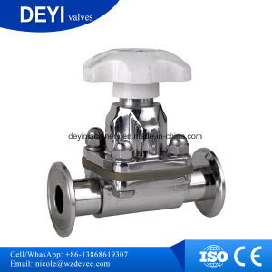 Dn10 Stainless Steel SS316L Aspetic Diaphragm Valves pictures & photos