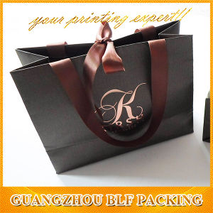 Color Printed Jewelry Fashion Handbag Paper Gift Bag for Shopping pictures & photos