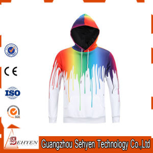 China Factory 65% Cotton 35% Polyester Fleece Hoodie pictures & photos