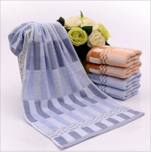 100% Cotton White Hotel Towel Set Factory pictures & photos