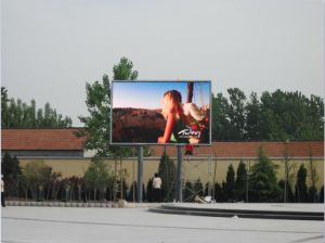 Low Power Consumption P10 Outdoor Full Color LED Advertising Display pictures & photos