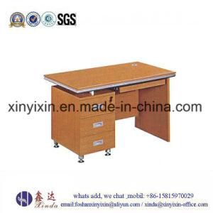 Simple Computer Table Melamine Staff Office Desk (MT-2424#) pictures & photos