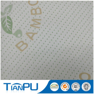 180-550GSM Customized Jacquard Logo Available Fire Retarded (other treatment available) Mattress Ticking Fabric Tp216 pictures & photos