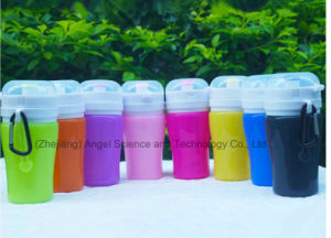 Christmas Holiday Gift 200ml Kid′s Children Cup with Silicone Scu03 pictures & photos