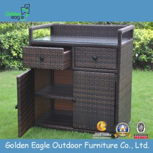 Rattan & Aluminum Made Outdoor Storage Box