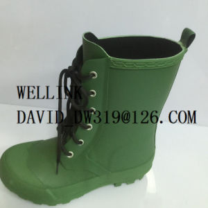 Fashion Ladies Rb Rainboot with Adjustable Strap pictures & photos