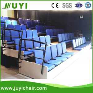 Brand New Retractable Seating Portable Bleacher with Auditorium Chair Jy-768f pictures & photos