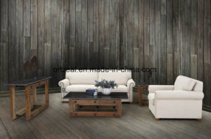 Modern Stone Hot Reclaimed Pine Coffee Table pictures & photos