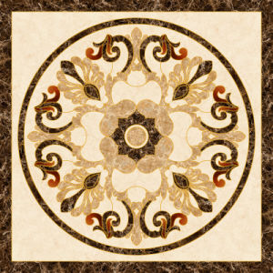 Flower Pattern Carpet Tile Polished Crystal Ceramic Floor Tile 1200X1200mm (BMP43) pictures & photos