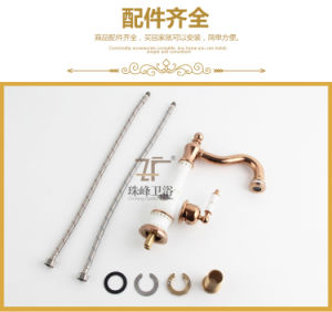 New Design Chinese Ceramic Basin Faucet (Zf-610) pictures & photos