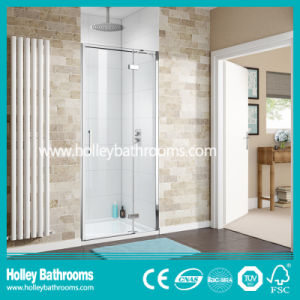 Clean Cut Hinged Shower Enclosure with Aluminium Alloy Frame (SE910C) pictures & photos