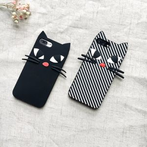 3D Cute Cat TPU Phone Case for iPhone 5/6/7plus pictures & photos
