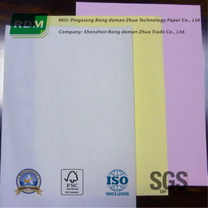 Uncollated or Pre-Collated Carbonless Paper Sheets for High-Speed Digital Printers pictures & photos