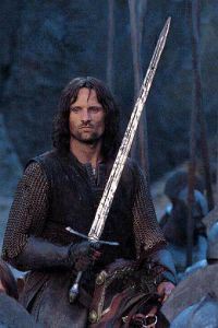 Aragorn Long Swordreplica /Movie Sword From The Lord of The Rings pictures & photos