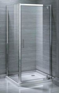 Bathroom MID-Range 6mm Pivot Door Shower Enclosure (MR-PD9090) pictures & photos