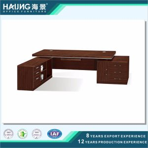 Modern Sandalwood Melamine Boss Office Furniture pictures & photos