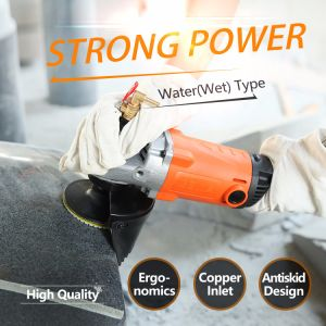 1400W/150mm Water (Wet) Angle Grinder for Stone (60106) pictures & photos