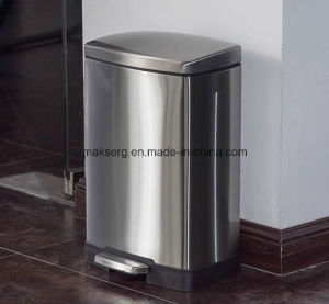 Foot Pedal Dustbin Factory Supplies Trash Can Garbage Bin OEM ODM Factory pictures & photos