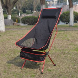 Portable Folding Aluminium Alloy Fishing Chair Camping Seat pictures & photos