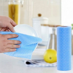 Perforated Wipes 530X300mm Blue, Roll of 85 Sheets pictures & photos