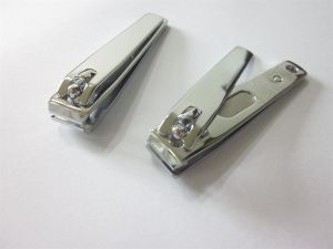 Straight Cut Nail Clipper with Laser File and Straight Handle pictures & photos