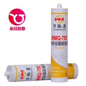 High Performance Neutral Weatherproof Adhesive Silicone Sealant (WMQ-793) pictures & photos
