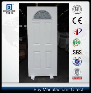 Fangda Brand Solid Core Steel Glass Metal Door pictures & photos