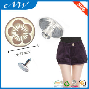 Hot Sale Cheap Price Metal Shank Buttons for Jeans