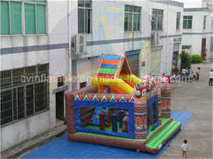 Children Inflatable Bouncer with Slide for Sales pictures & photos