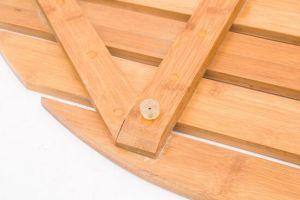 Bathroom Anti Skip Bamboo Pads, Bamboo Bathroom Boards, Bamboo Bath Boards pictures & photos