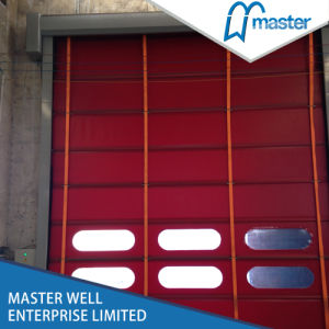 Best Price Automatic Stacking High Speed Fold up Door for Parking pictures & photos